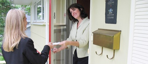 ALL POLITICS IS LOCAL: CANVASSING